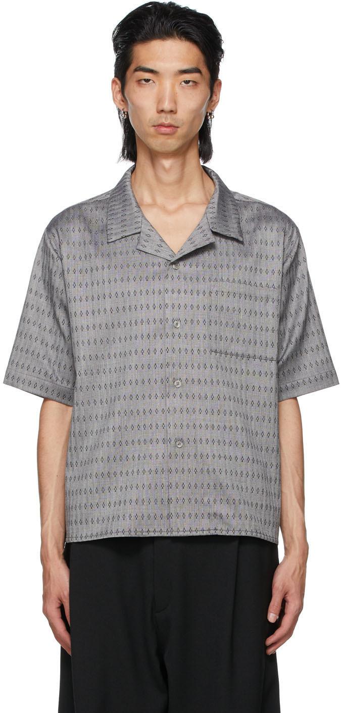 GmbH 灰色 Luka 短袖衬衫