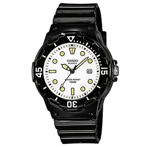 【CASIO】運動潛水風格腕錶-黑X白面 (LRW-200H-7E1)正版宏崑公司貨
