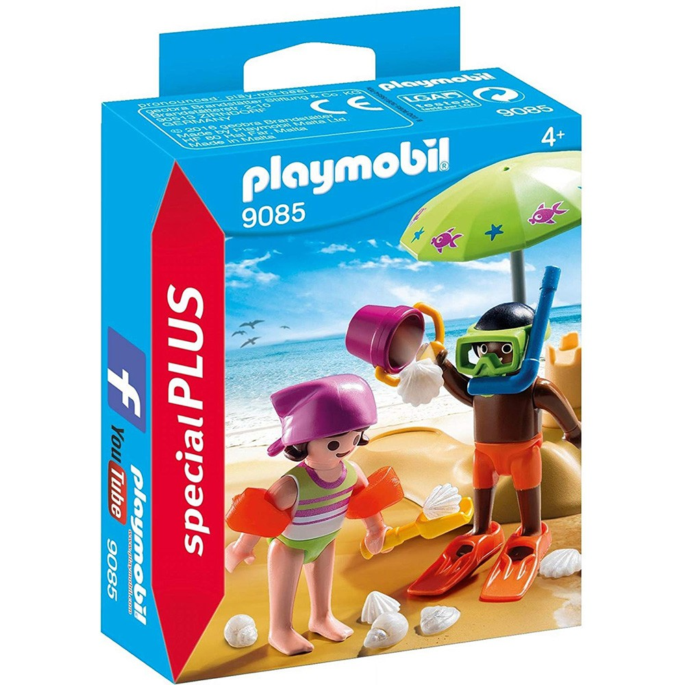 playmobil special plus 摩比人 小孩與沙灘