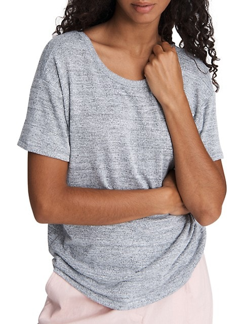 The Knit Open-Back T-Shirt