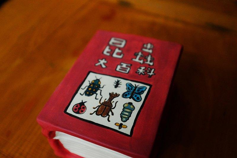 昆蟲大百科陶瓷收納盒