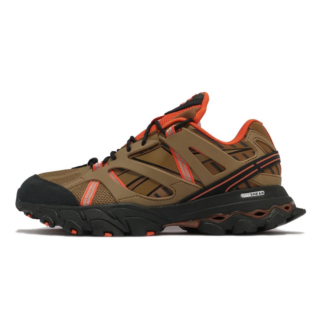 Reebok 越野鞋 DMX Trail Shadow 咖啡色 橘 戶外 復古 男鞋 海外限定【ACS】 FW3332