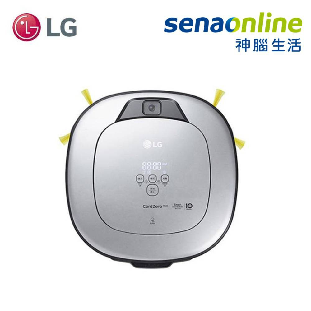 LG 樂金 VR6698TWAR WiFi濕拖清潔機器人-三眼【限量贈濾網+纖細抹布】神腦生活