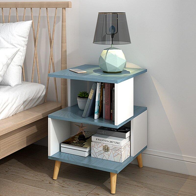 簡易床頭柜特價床邊收納小柜子簡約現代臥室床頭迷你儲物柜多功能
