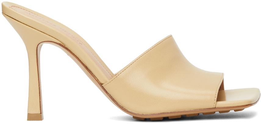 Bottega Veneta 米色 Stretch 凉鞋
