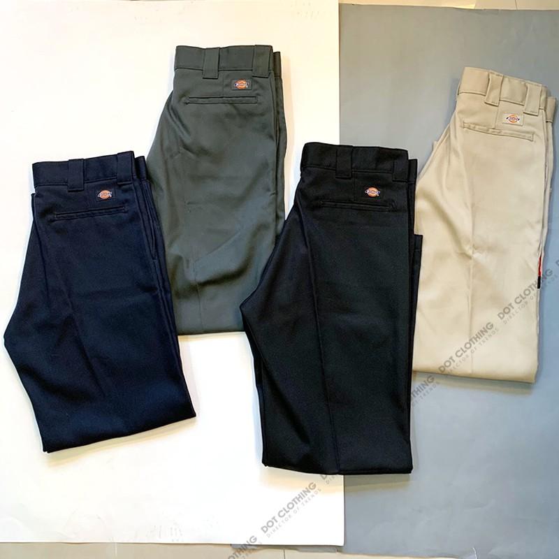 DICKIES 874 FLEX 黑 灰 深藍 卡其 寬版 直筒褲 經典 工作褲 長褲 西裝褲 寬褲 男版