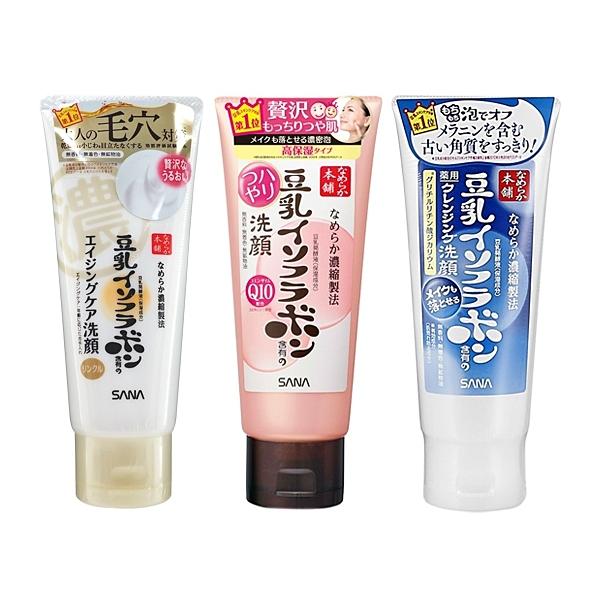 SANA 莎娜 豆乳 美肌緊緻潤澤/極淨白/美肌Q10深層 洗面乳(150g) 多款可選【小三美日】