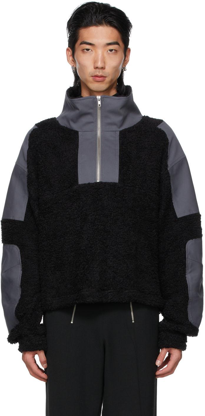 GmbH 黑色 Mathis 有机棉套头衫