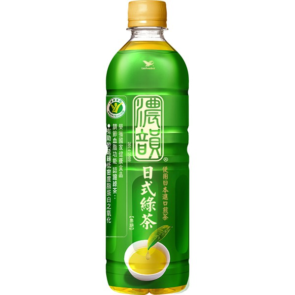 濃韻日式綠茶PET600 x24入團購組 【康是美】