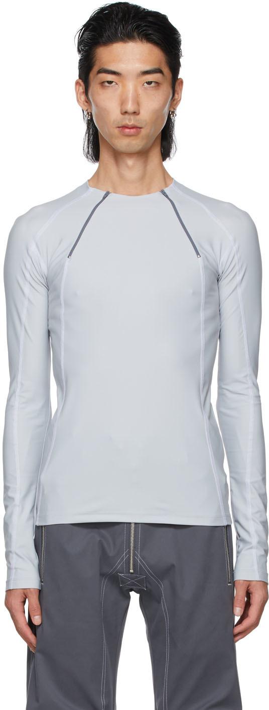 GmbH 灰色 Ande 长袖 T 恤