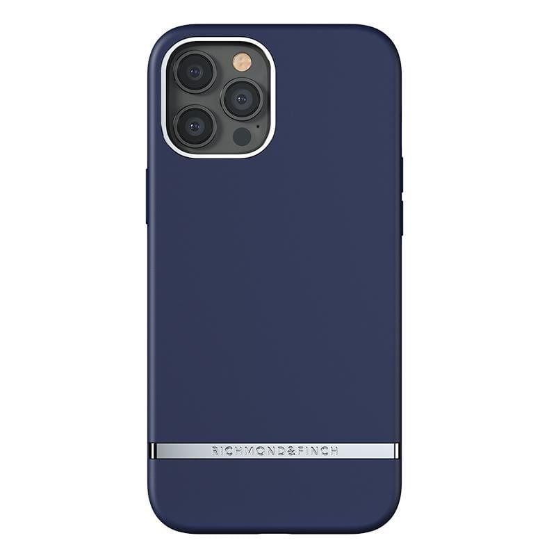 IPhone12Pro Max(6.7吋)RF瑞典手機殼 銀線框 -海軍深藍