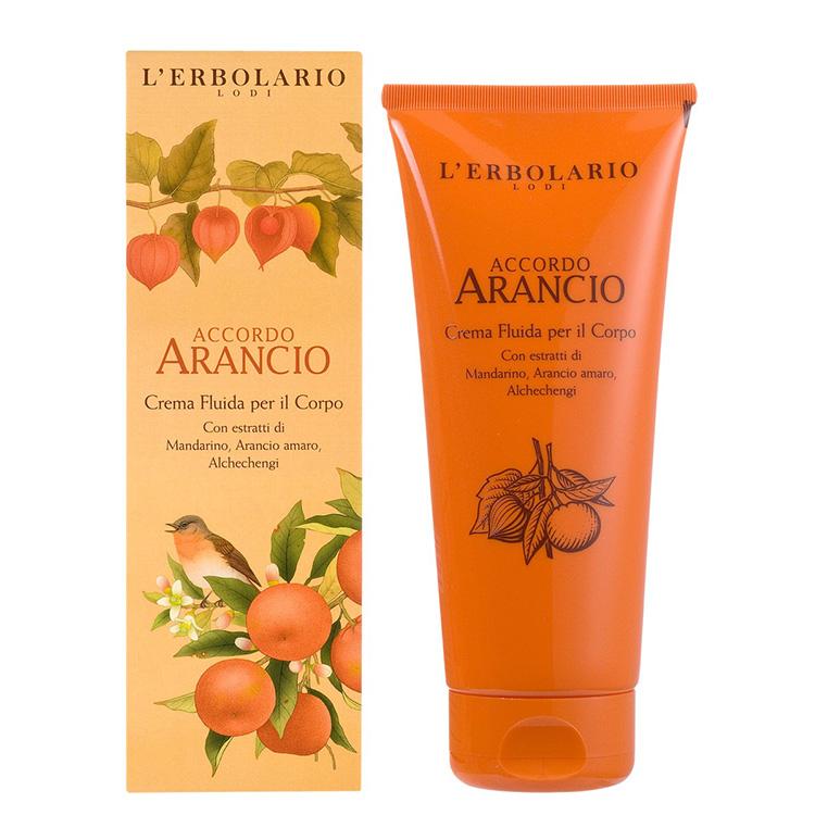 L'ERBOLARIO蕾莉歐-橙香柑橘保濕潤膚霜200ml _廠商直送