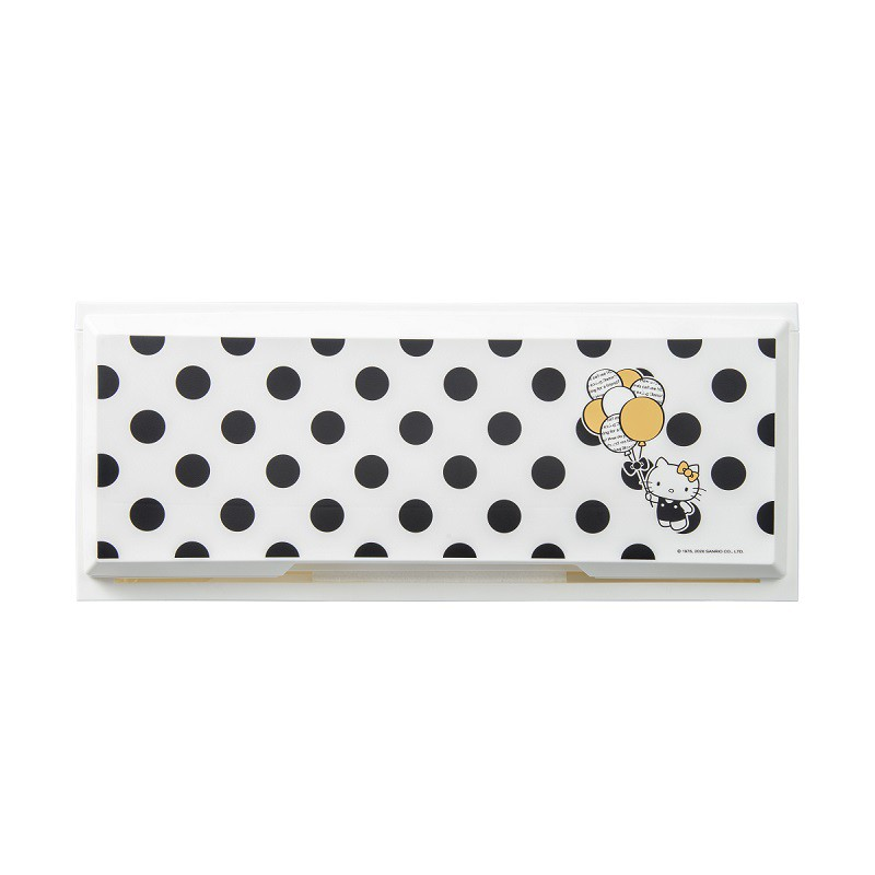 完美主義│黑點點白底Kitty收納櫃(三入一組) MIT台灣製 樹德 收納櫃 置物架 收納 衣櫃【R0193】