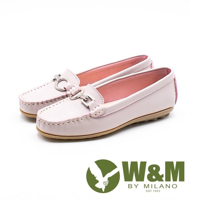 W&M 可水洗舒適柔軟莫卡辛鞋 女鞋-粉(另有黑)