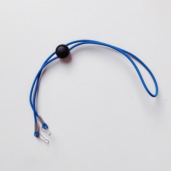 3條裝 素色彈力口罩防丟掛繩防掉口罩繩子簡約掛脖掛鏈【輕派工作室】