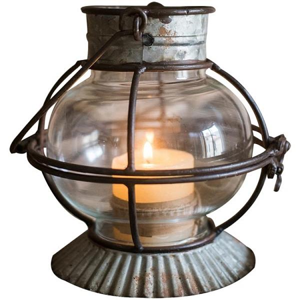 復古鐵藝燭臺風燈小提燈裝飾擺件花器花園雜貨ZAKKA美式【618特惠】