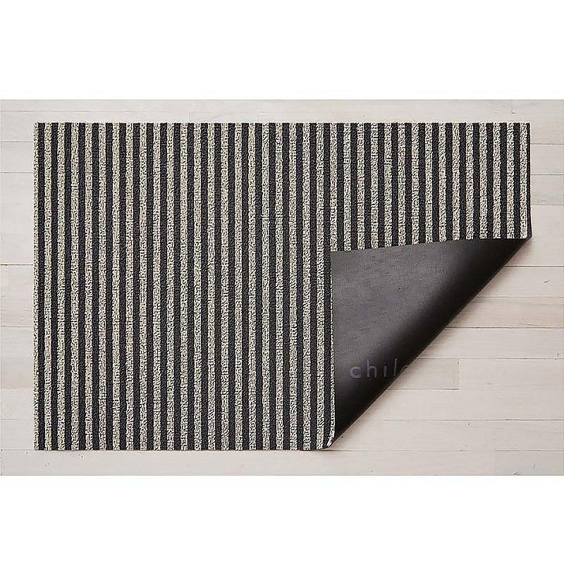 Breton Stripe系列地墊-46X71CM-礫石黑