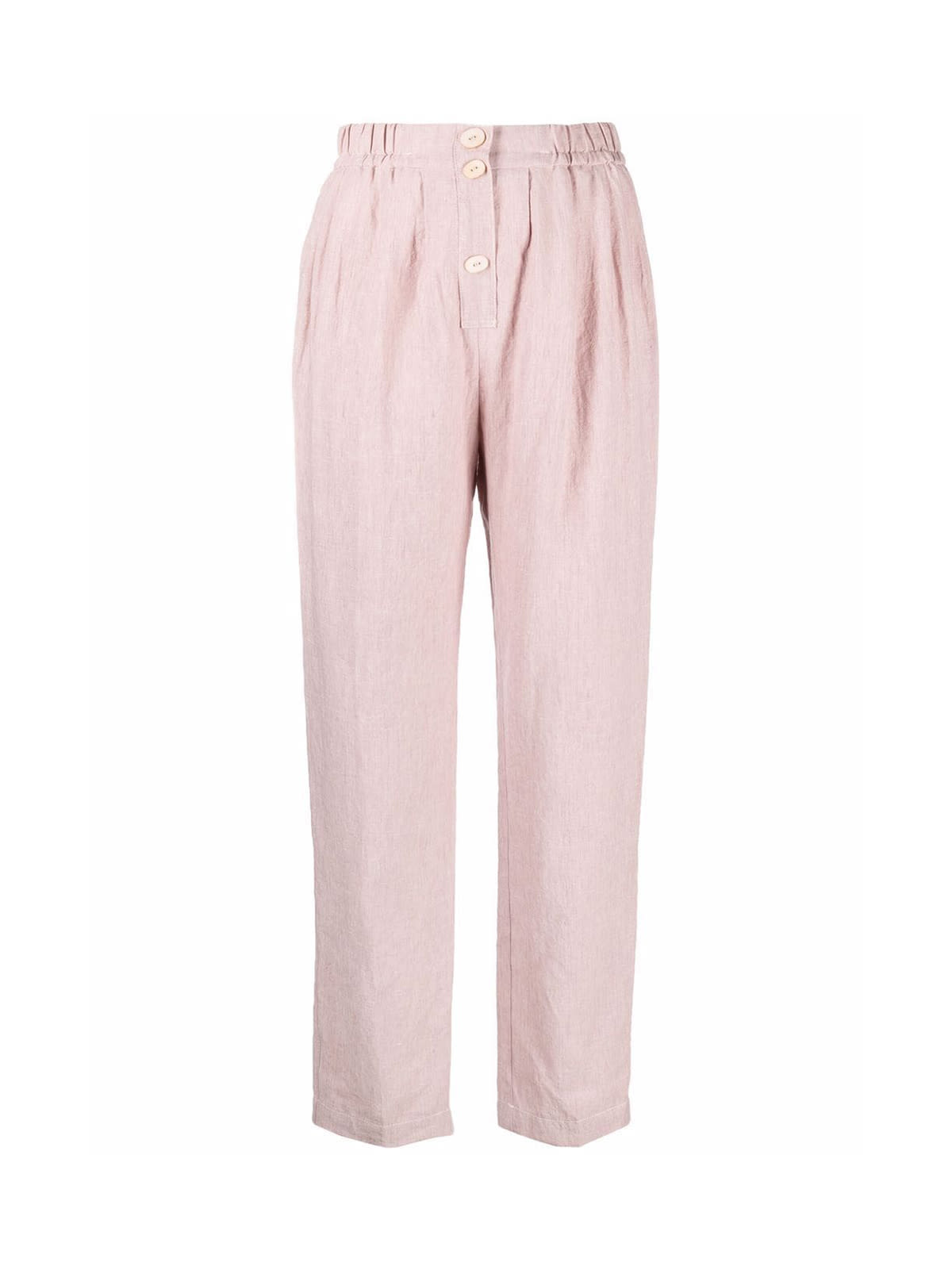 Forte Forte Linen Viscose Elasticated Pants