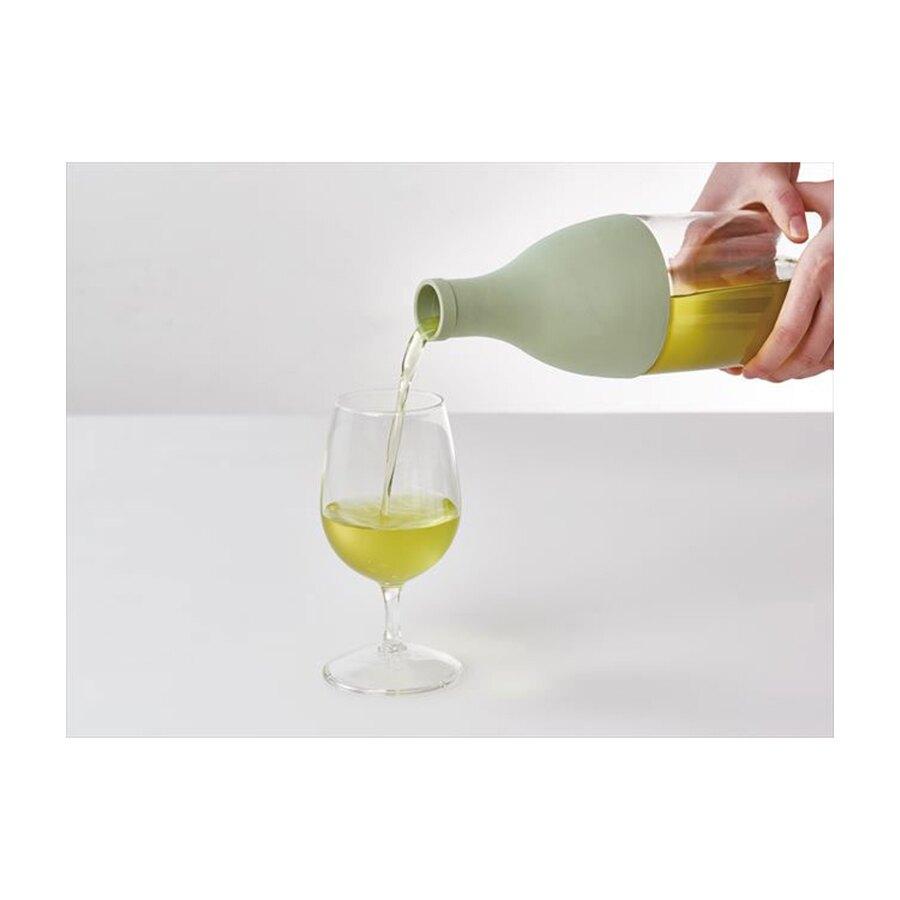 AISNE香檳瓶白色冷泡茶壺