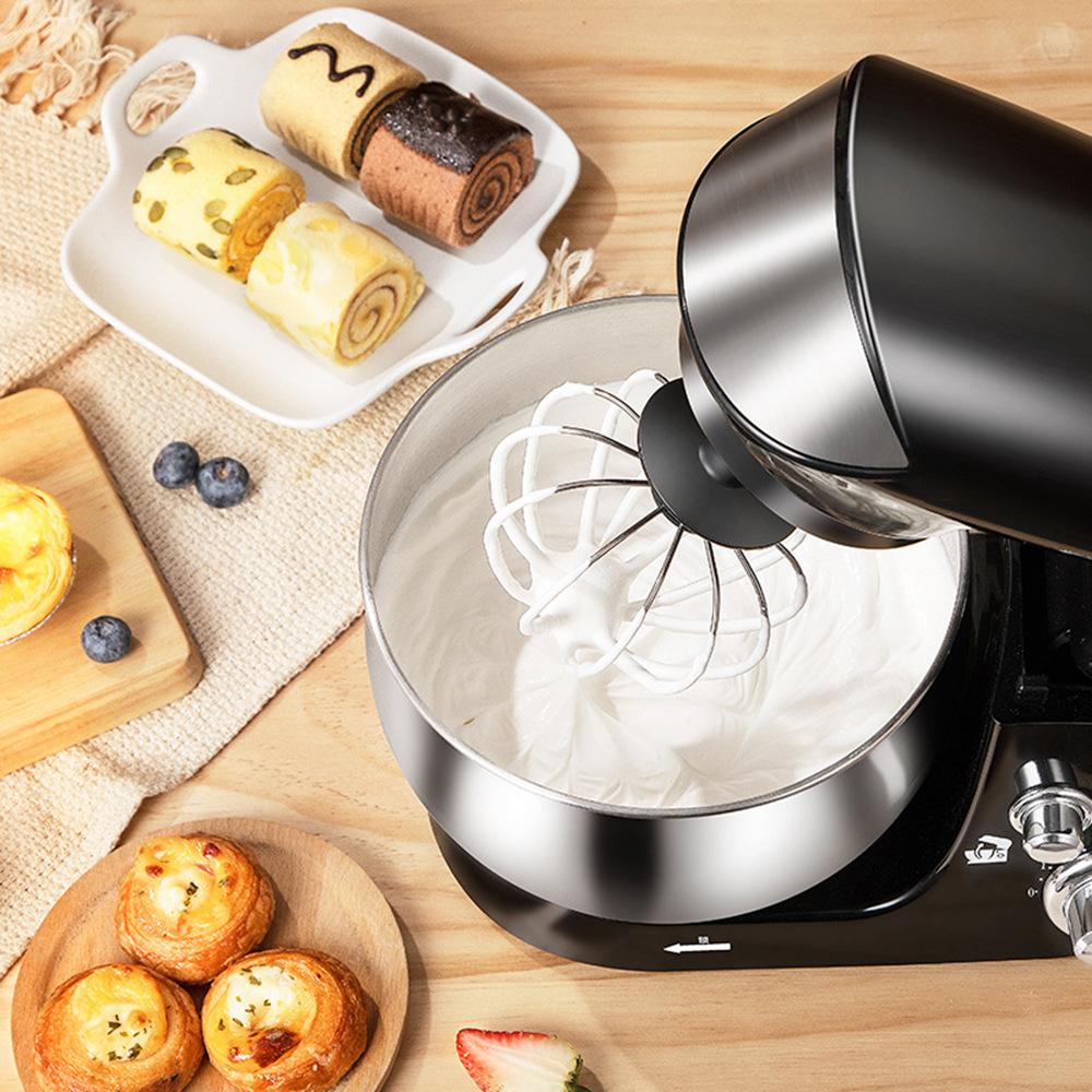 電動打蛋器家用小型烘焙3.5L奶油蛋清打蛋機臺式和面機奶蓋機