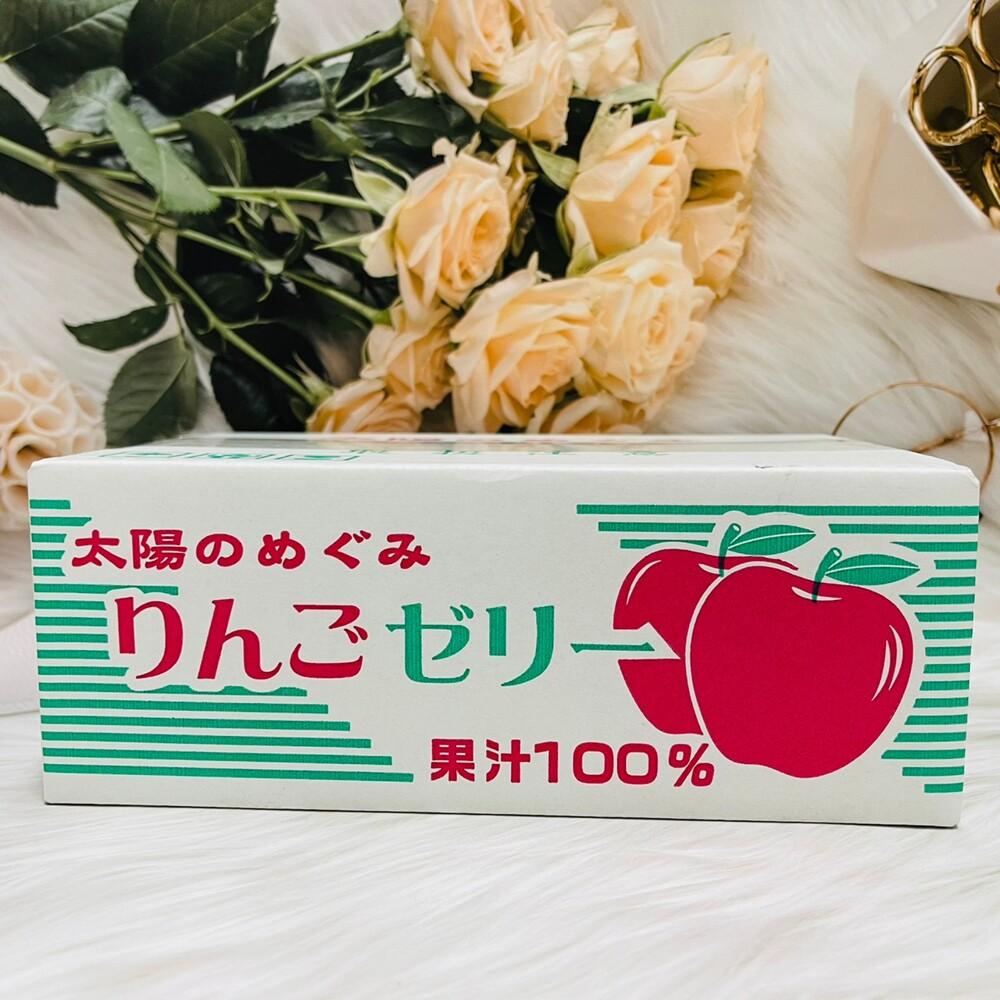 潼漾小舖 日本 as 蘋果果凍 果汁100% 盒裝果凍 23入/盒