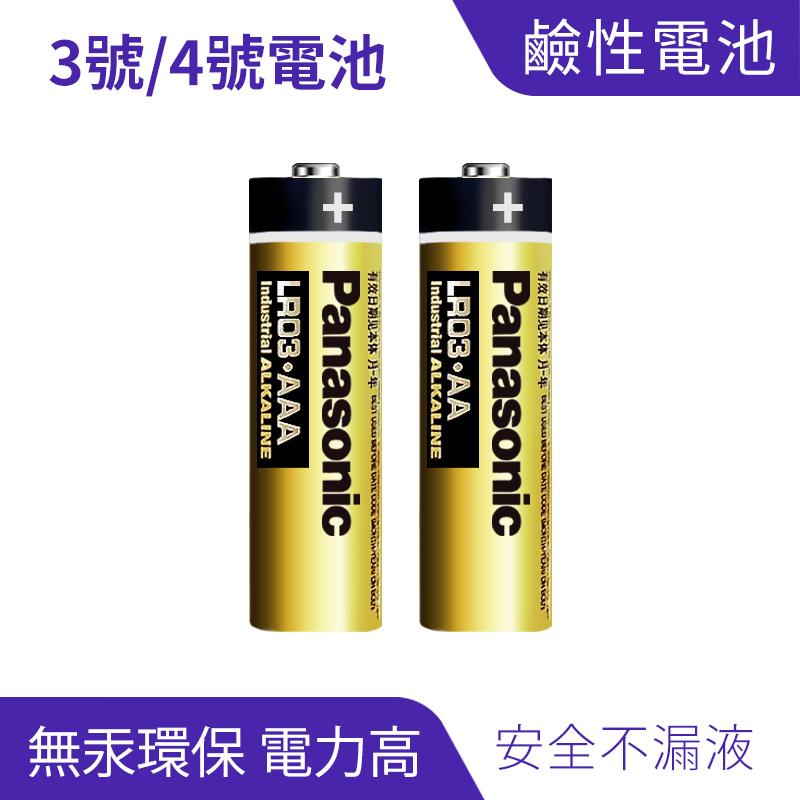 Panasonic國際牌  3號/4號鹼性電池
