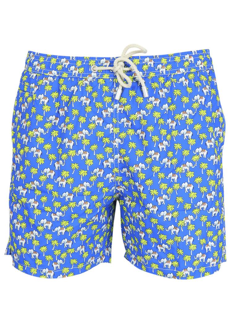 MC2 Saint Barth Elephant Palm Shorts
