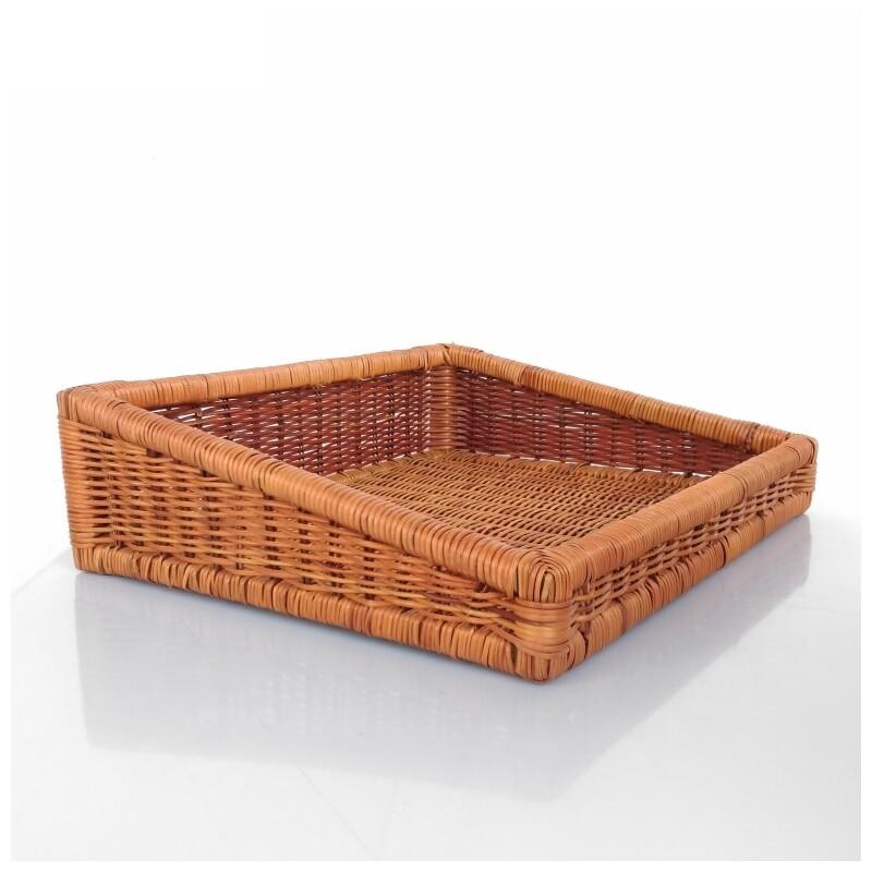 decobox鄉村風編織盤673(清明,拜拜,麵包盤, 備品籃, 收納雜物籃,毛巾籃)
