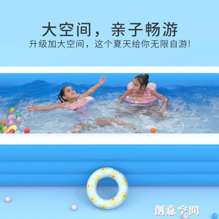樂天精選-伊潤新生兒嬰兒充氣游泳池寶寶游泳桶兒童洗澡海洋球池家用可折疊 NMS
