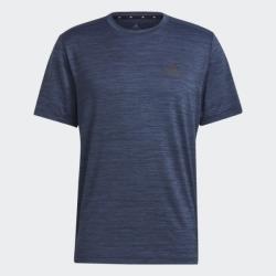 Adidas AEROREADY 男裝 短袖 訓練 吸濕排汗 加長後擺 麻花藍【運動世界】GM2133