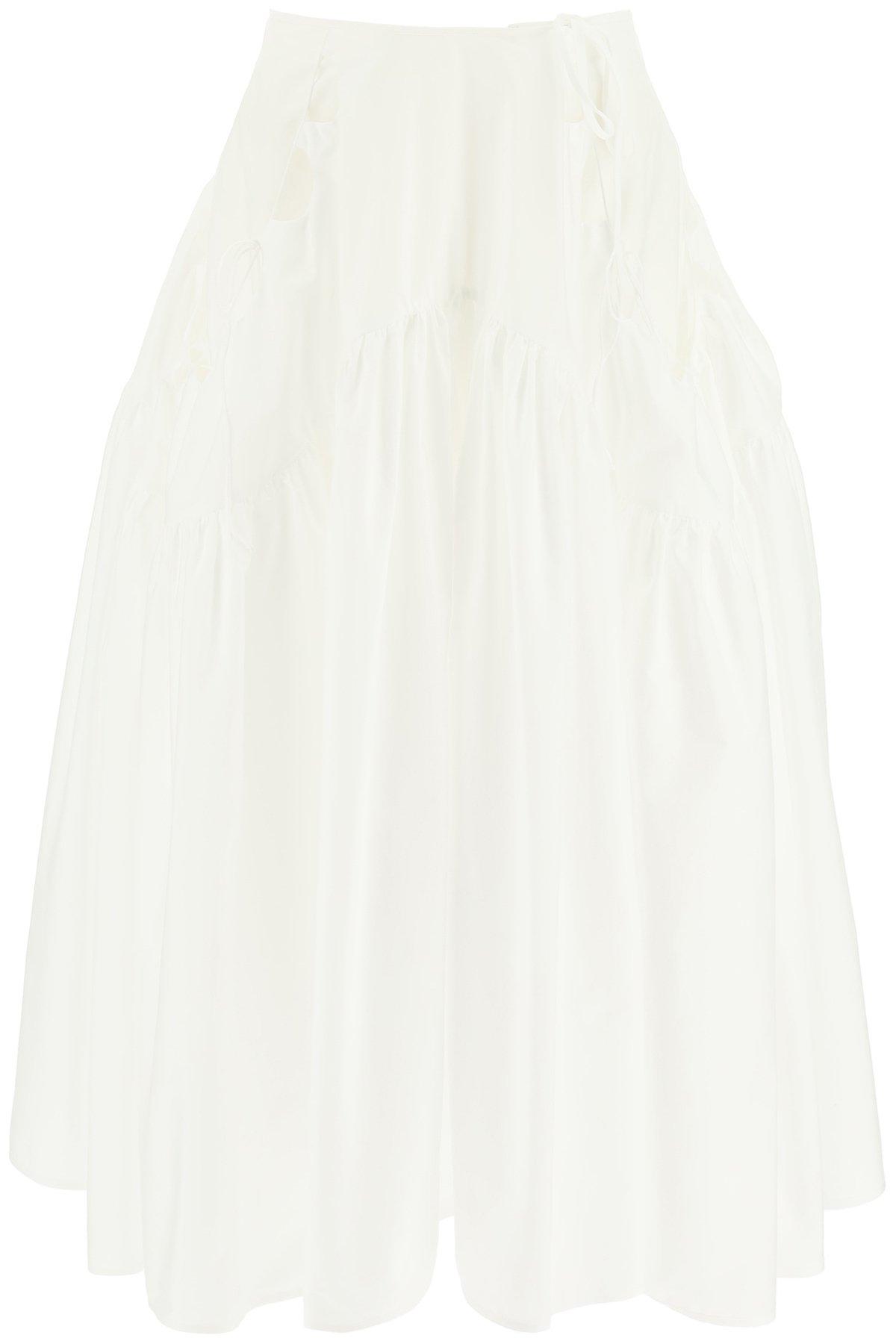Cecilie bahnsen honey cotton skirt