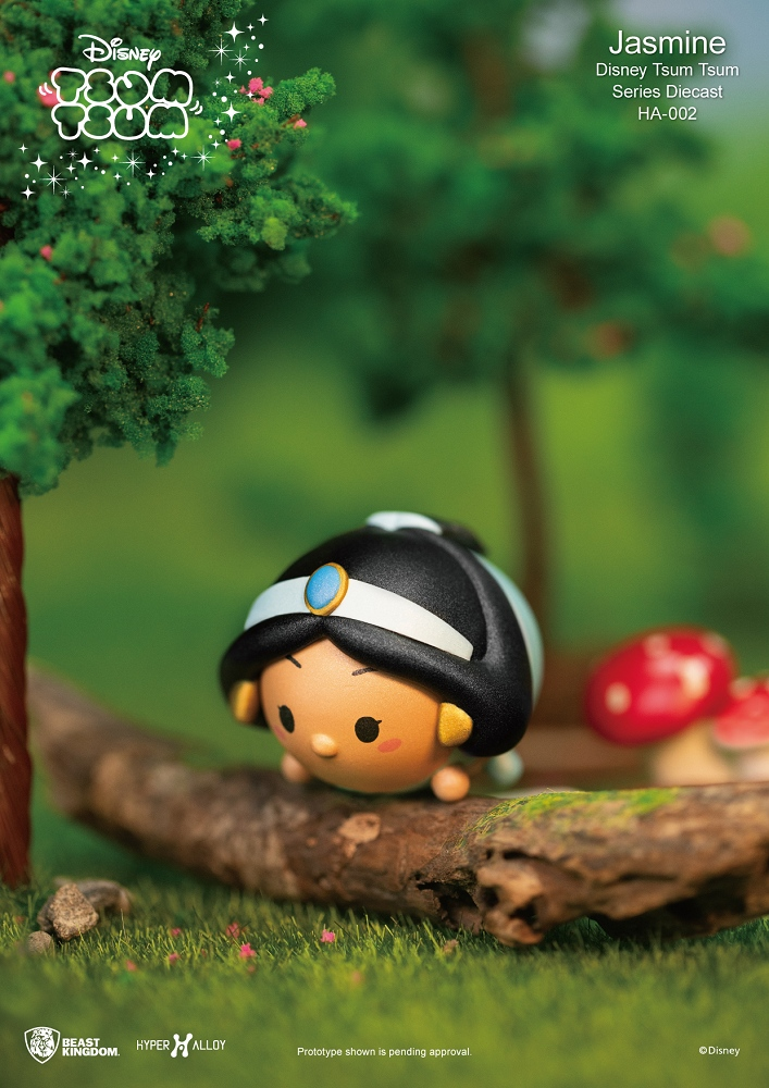 HA-002 Disney Tsum Tsum系列 合金公仔 茉莉