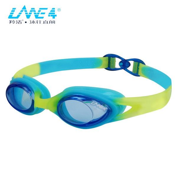 海納川 LANE4羚活兒童用抗UV舒適泳鏡 A335