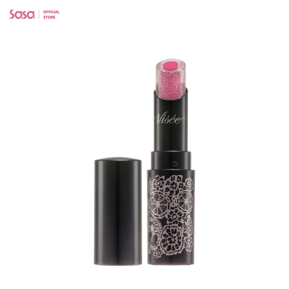 VISEE 水晶透潤清亮唇膏 (PK866 Fresh Pink) (3.5克)