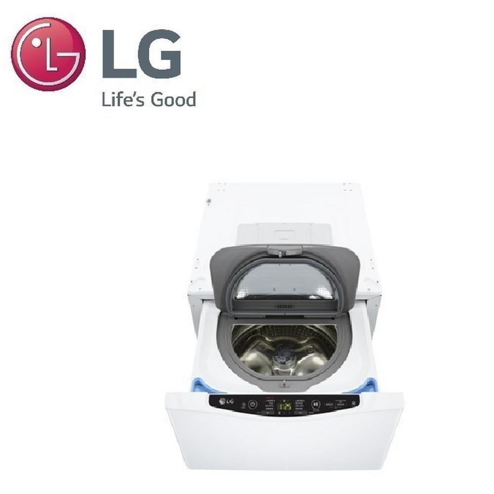 LG 2KG MINI變頻洗衣機-白  WT-SD200AHW 【全國電子】
