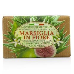 那是堤 植物香皂 Marsiglia In Fiore Vegetal Soap - 無花果和蘆薈 125g/4.3oz
