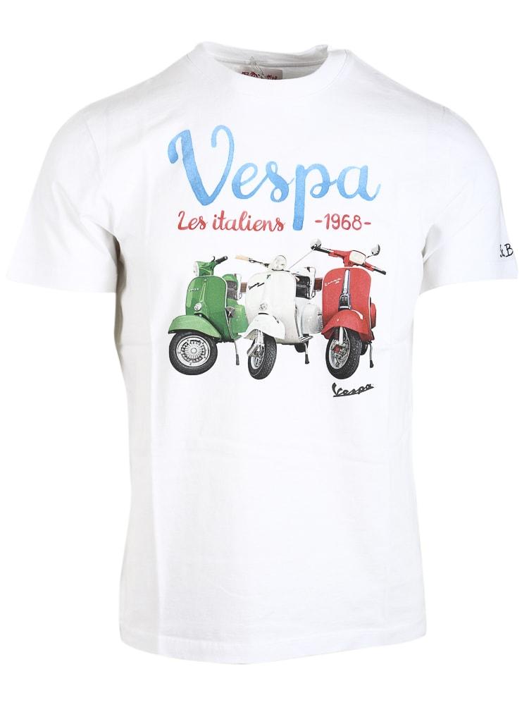 MC2 Saint Barth Vespa Italiens T-shirt