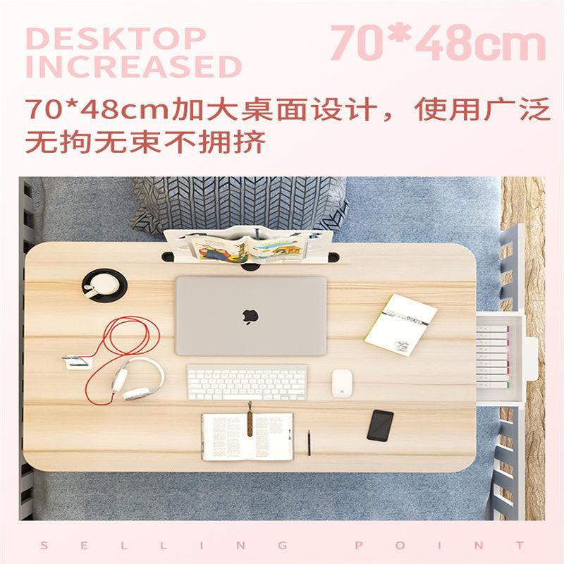 床上小桌子飄窗折疊桌學生床頭宿舍書桌筆記本電腦支架辦公桌懶人【艾莎嚴選618狂歡】