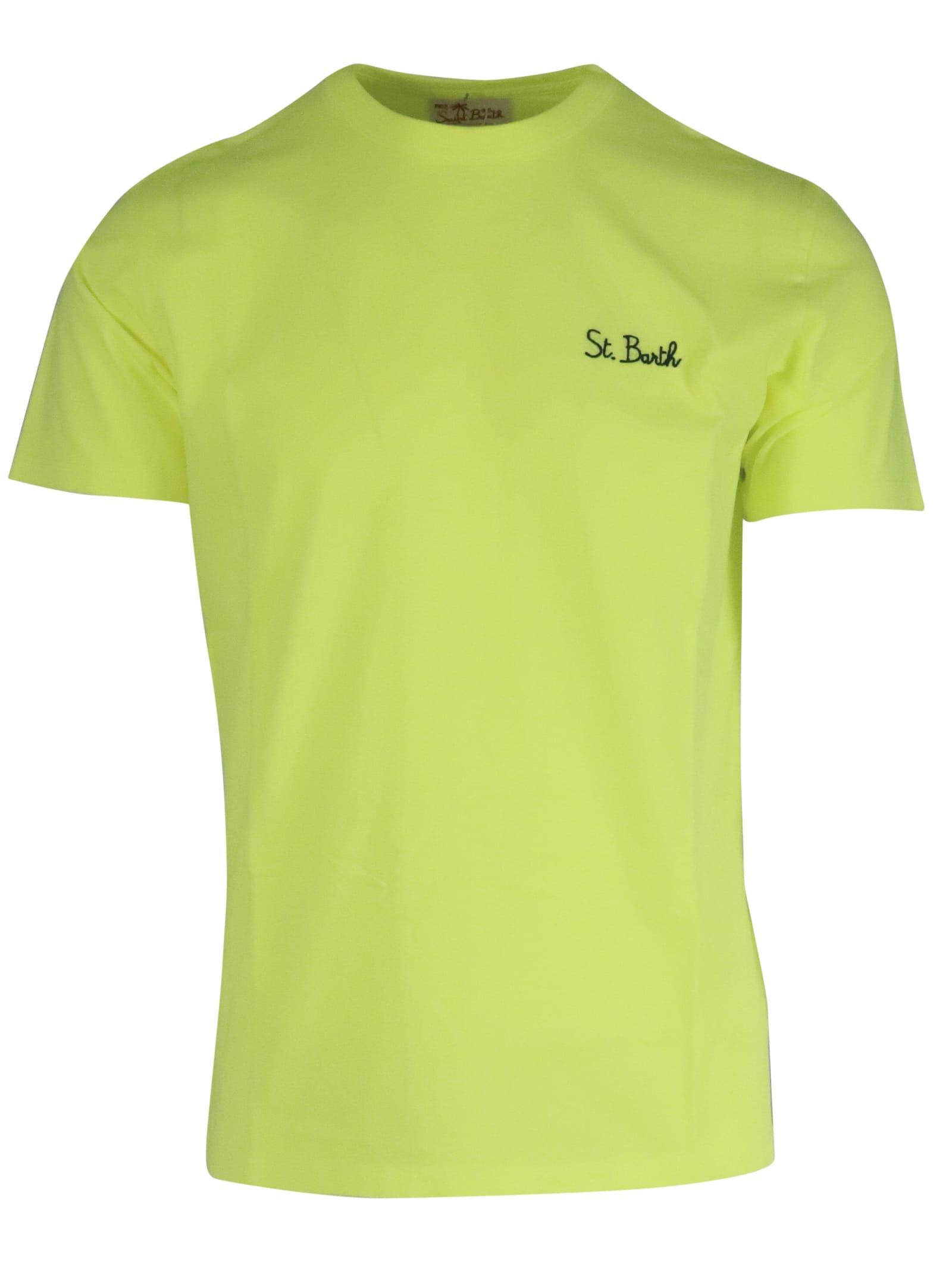 MC2 Saint Barth Tshirt Garment Dyed T-shirt