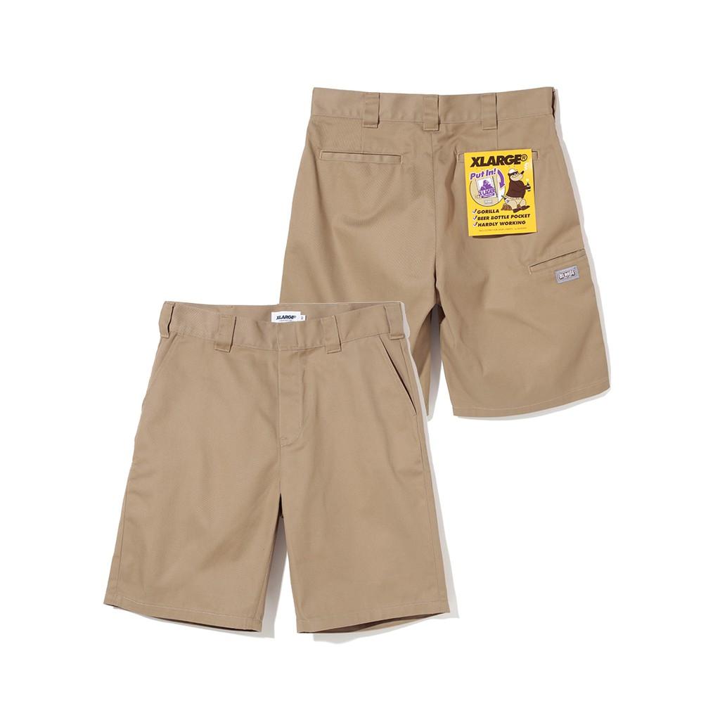 XLARGE SIDE PKT WORK SHORT 短工作褲-01181702