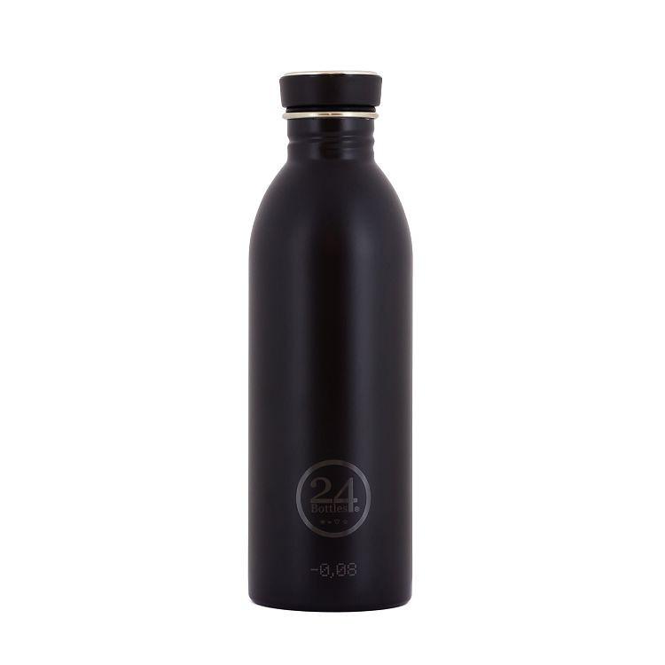 義大利 24Bottles 城市水瓶 500ml - 紳士黑