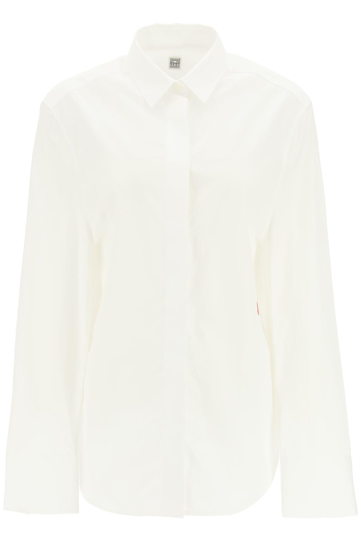 Totême Oversized Poplin Shirt