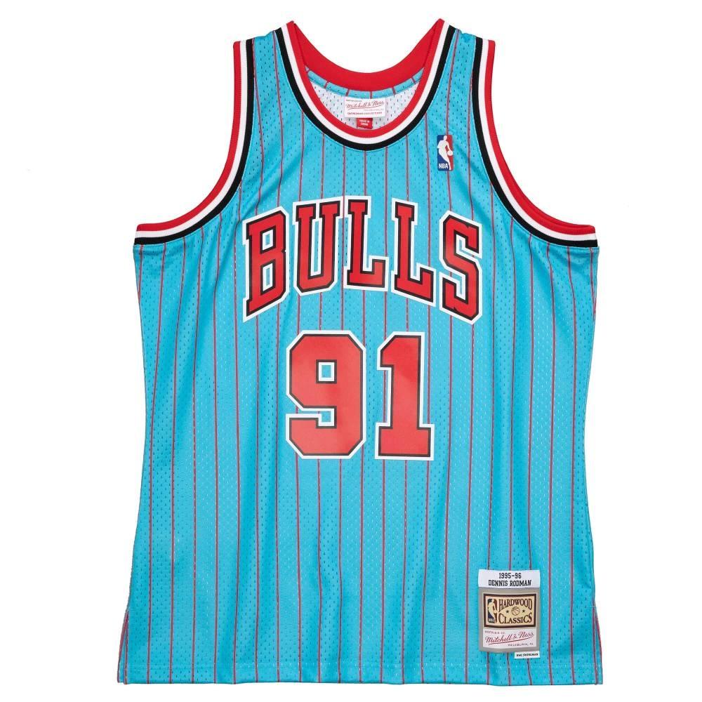 M&N NBA RELOAD 異色 復古球衣 公牛隊 95-96 #91 Dennis Rodman