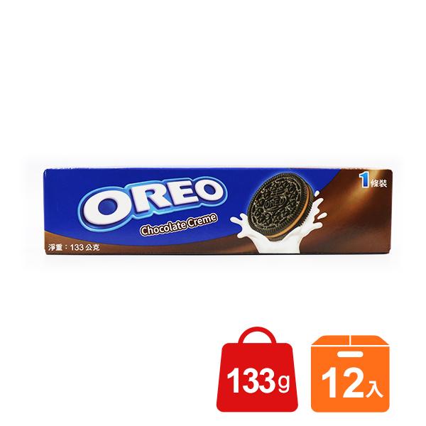 Oreo奧利奧巧克力口味夾心餅乾*團購*12入