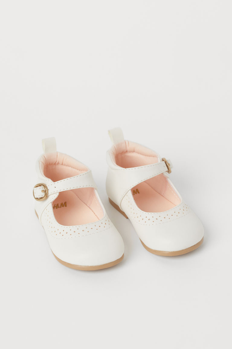 H & M - 漆皮鞋 - 白色