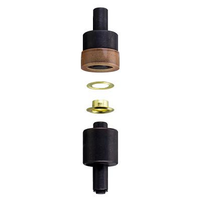 IVAN 革工佳®手壓機16722-04(10mm)純銅雞眼模具組39011-04