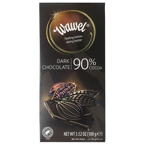 Wawel瓦維爾 90%純黑巧克力100g