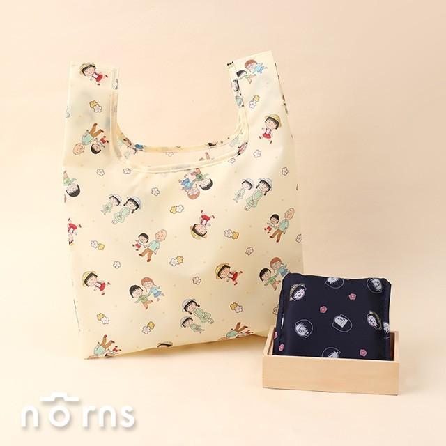 日貨櫻桃小丸子eco bag - norns日本進口 折疊式環保購物袋 手提袋