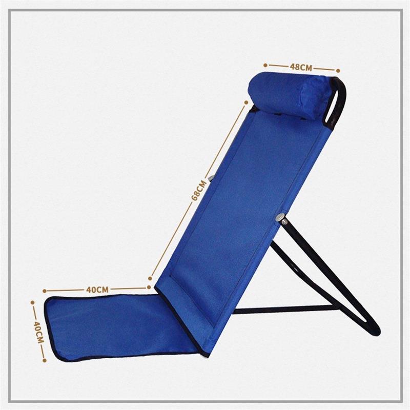 折疊和室椅  大學生寢室宿舍床上靠背折疊躺椅床上靠椅無腿懶人椅榻榻米和室椅 bw5864