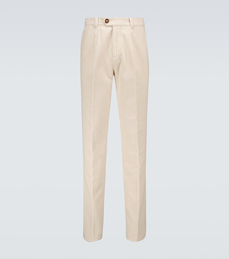 Corduroy cotton pants